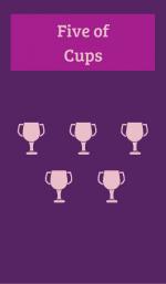 FIVE OF CUPS Tarot Card Meanings – TAROT CARDS
