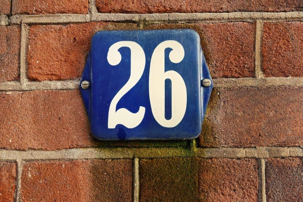 26 angel number