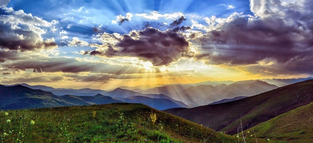 heavenly-sunset